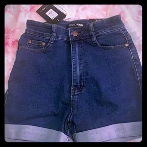 Fashion Nova Jean Shorts!